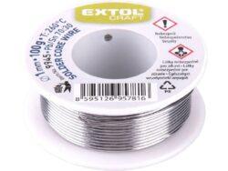 EXTOL 9945 Cín pájecí Sn30/Pb70 D1mm 100g-Cín pájecí Sn30/Pb70 D1mm 100g
