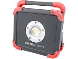 EXTOL 43134 Reflektor aku LED 20W 2000lm 3,7V 6,6Ah-Reflektor aku LED 20W 2000lm 3,7V 6,6Ah